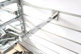 Lamellenwand Plankdrager haakje 40 cm lang_