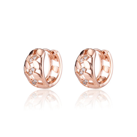 XUPING Earrings - Rosé Gold