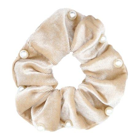 Velvet Scrunchie Vanilla