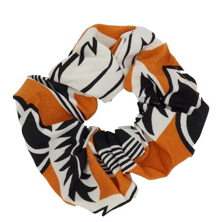 Scrunchie Abstract Oranje