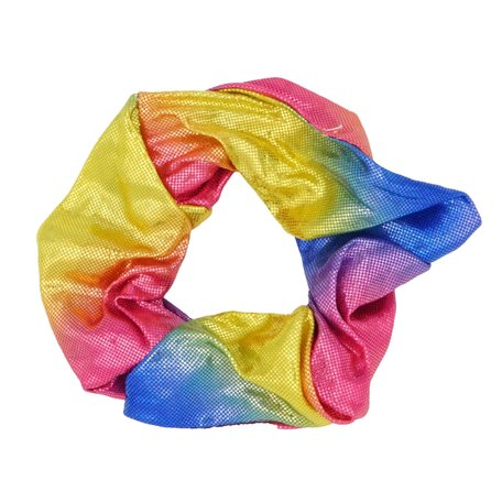 Glitter Scrunchie Rainbow