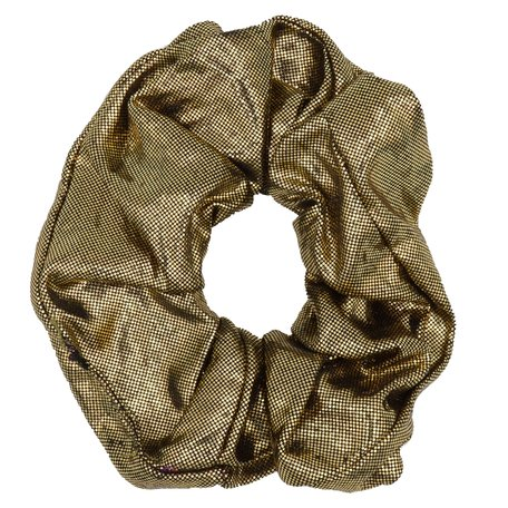 Glitter Scrunchie Gold