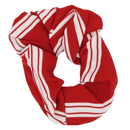 Scrunchie Abstract Rood & Wit