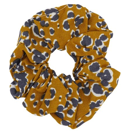 Scrunchie Abstract Brown