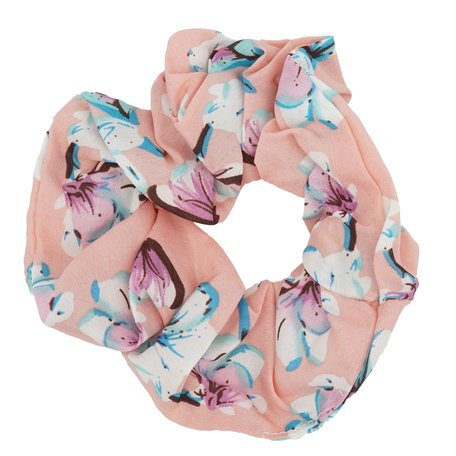 Scrunchie Abstract Bloemen