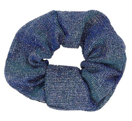 Glitter Scrunchie Blauw