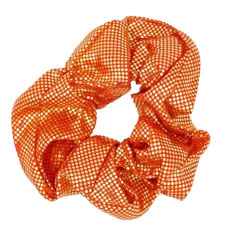 Scrunchie Rood & Goud