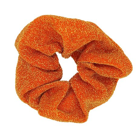Glitter Scrunchie Geel & Oranje
