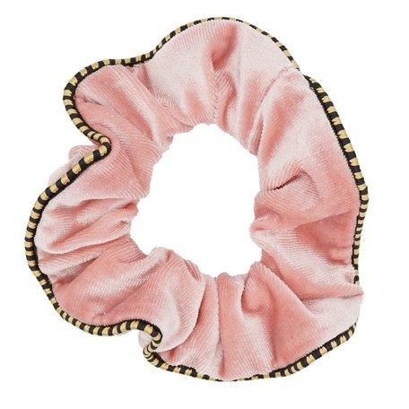 Velvet Scrunchie Roze