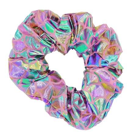Glitter Scrunchie Rainbow