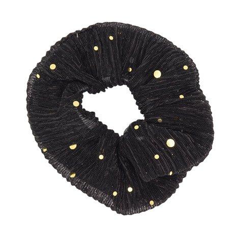 Glitter Scrunchie Zwart