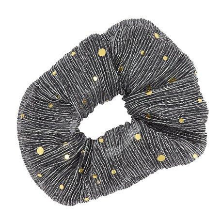 Glitter Scrunchie Grijs