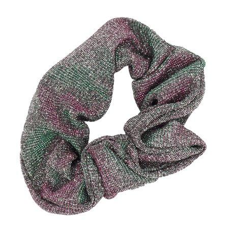 Glitter Scrunchie Groen & Rood