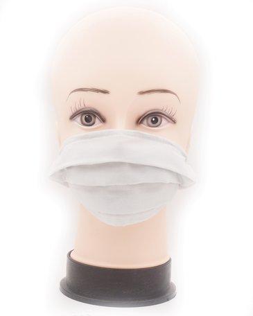 Wasbare mondkapje met neusclip /katoen / Machine Washable Cotton Mask - Grijs