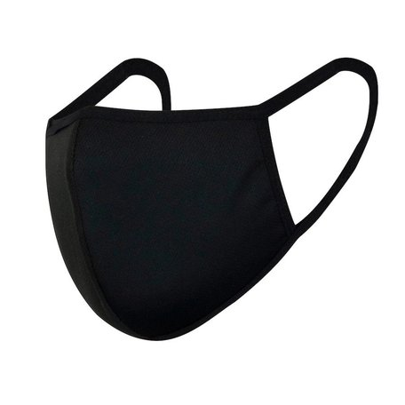 Fashion Wasbare mondkapje / 95%Viscose fiber & 5%spandex / kleur Zwart