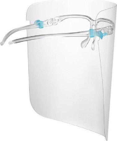 100 x Gezichtscherm Bril | Spatmasker | Gezichtmasker | Beschermkap voor gezicht | Face Shield - Bril