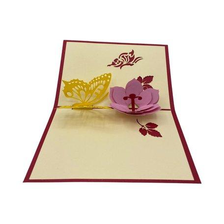 Pop Up Valentijnskaart