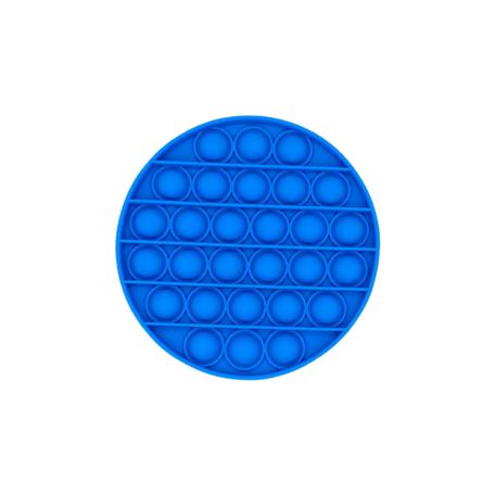 Blauw rond