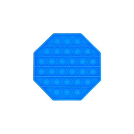 Licht Blauw achthoek