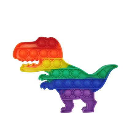 Kleur Rainbow Dino