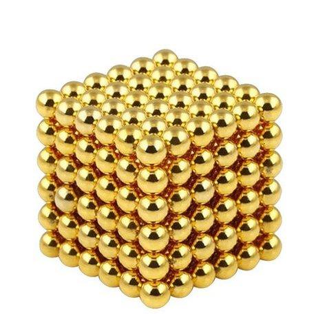 216 Magneet balls Goud