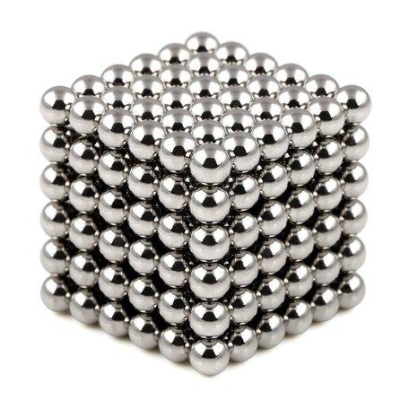 216 Magneet balls Zilver