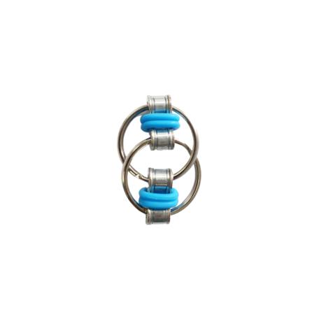 Fidget Ring Licht Blauw