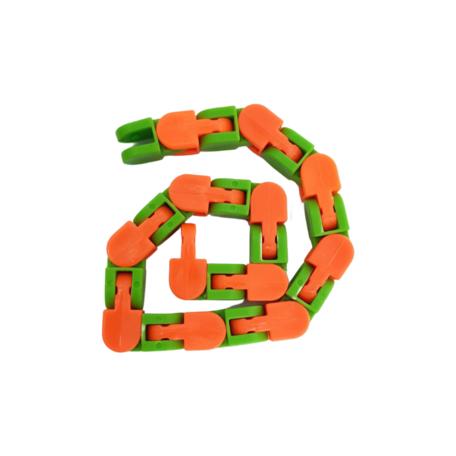 Fidget Wacky tracks Kleur Groen Oranje