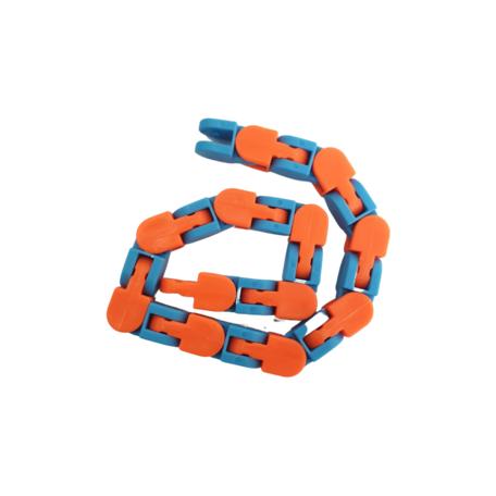 Fidget Wacky tracks Kleur Blauw Oranje