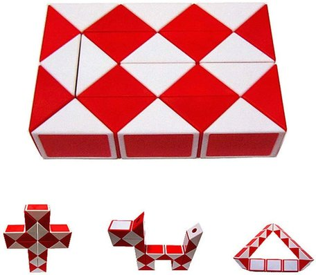Magic Snake Cube Rood
