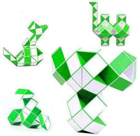 Magic Snake Cube green