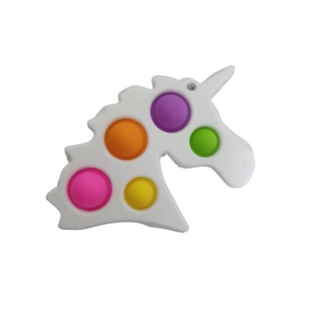 5 Kleurig Unicorn Wit