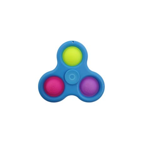Spinner 3 Blauw