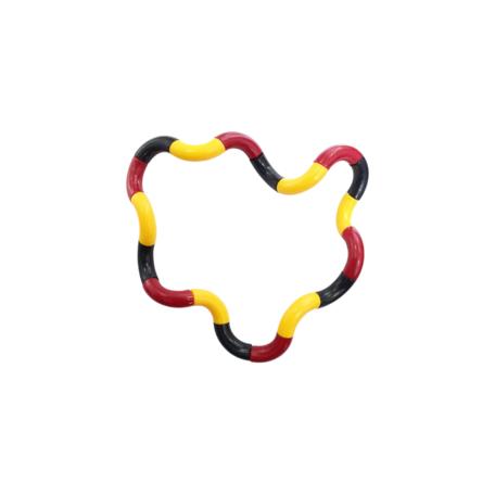 Fidget Twister Twist Geel, Rood, Zwart
