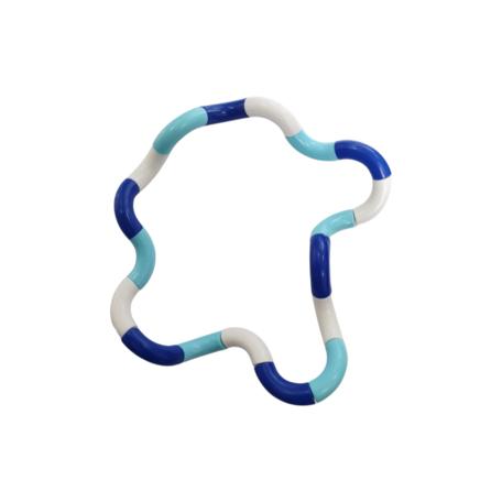 Fidget Twister Twist Blauw, Wit, Licht Blauw