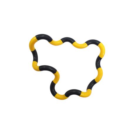 Fidget Twister Twist Geel, Zwart