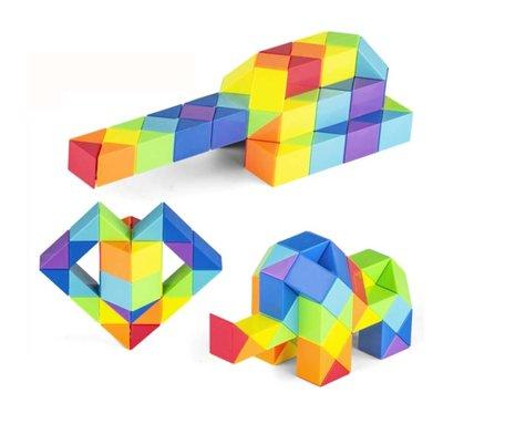 Magic Snake Cube Rainbow