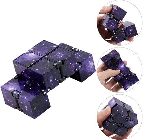 Infinity Cube Space Kleur paars