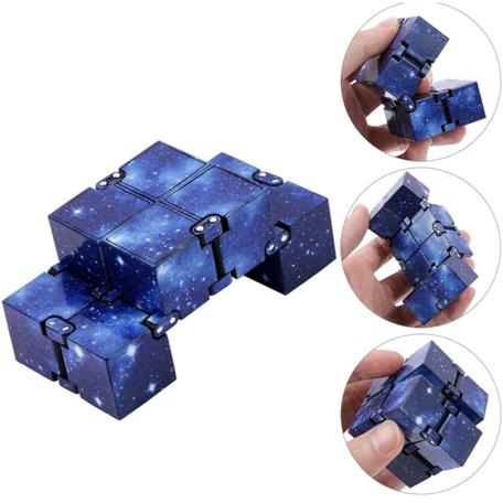 Infinity Cube Space Kleur Blauw