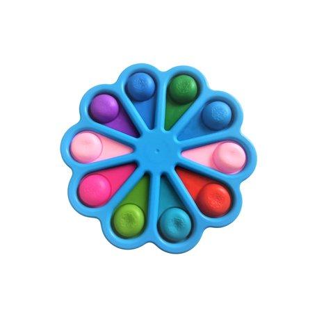 XXL Fidget Pad Blauw