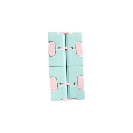 Infinity Cube Kleur Blauw & Roze