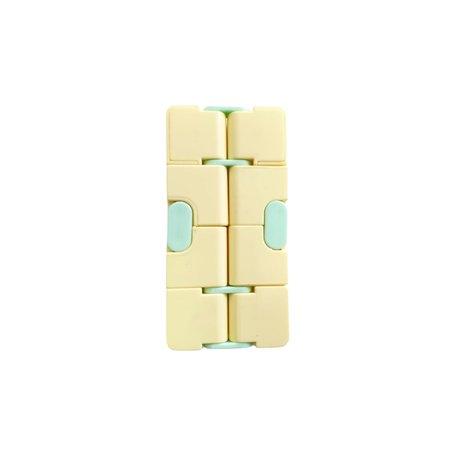 Infinity Cube Kleur Geel Groen