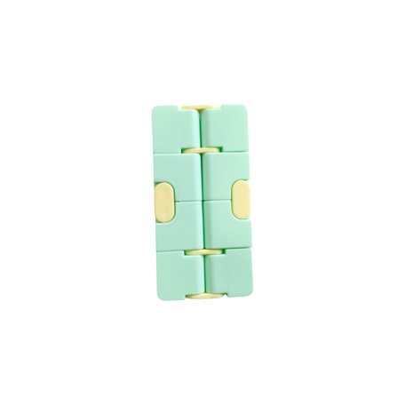 Infinity Cube Kleur Groen Geel