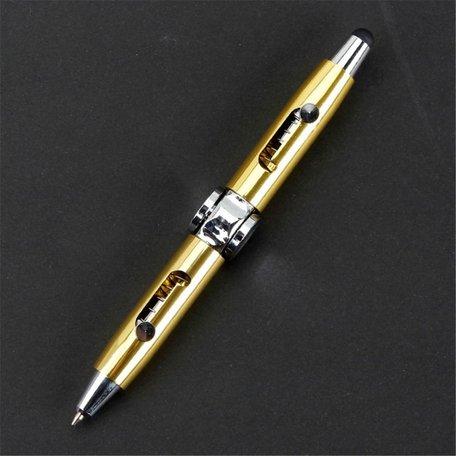 Fidget  Spinner Pen Kleur Goud