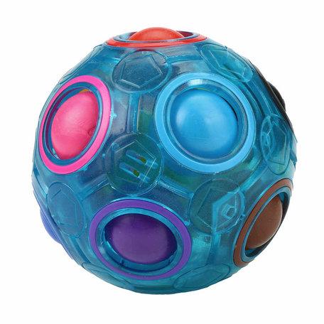 Fidget Ball puzzle Blauw Glow in The Dark