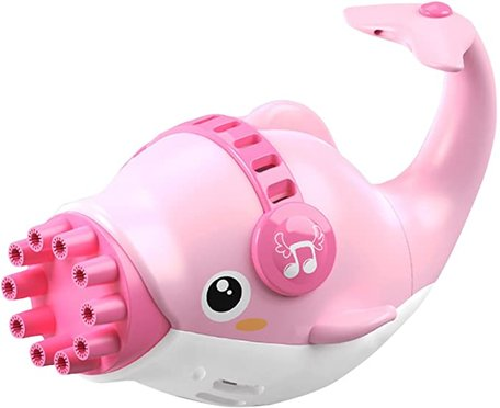 Bubble Machine Dolpin Pink