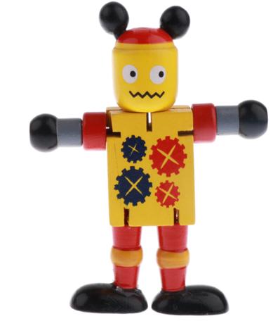 Fidget Robot Wood