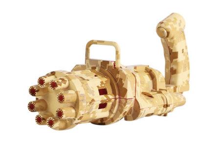 Bubble Machine gold camouflage