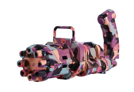 Bubble Machine pink camouflage