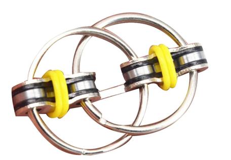 Fidget Ring Geel
